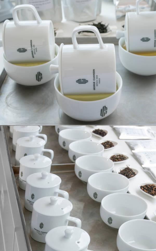 tasse de thé noir pour dégustation, george cannon